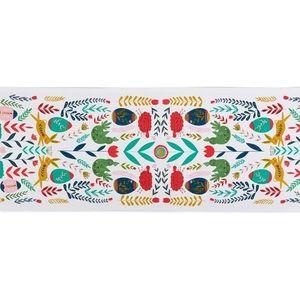 Table runner/ Cotton/ Easter decor/ multi color